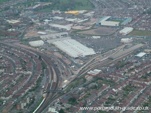 Fratton From The Air
