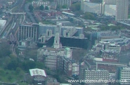Portsmouth Guidhall From The Air