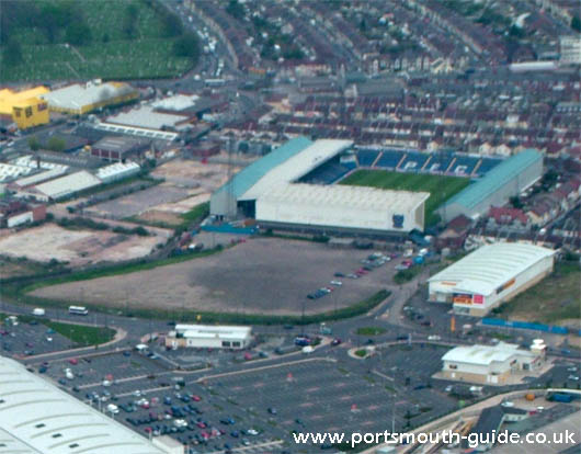 Portsmouth FC From The Air