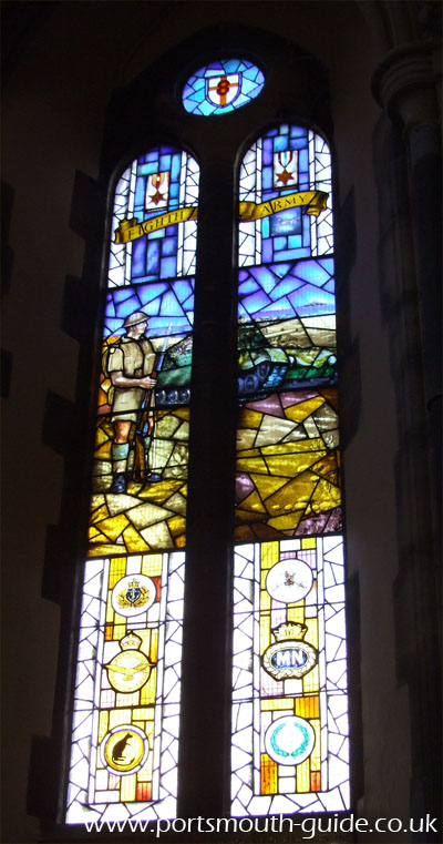 Royal Garrison Church Window